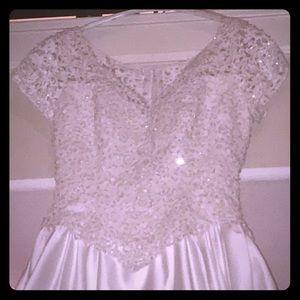 White Wedding gown 12